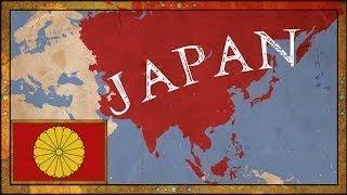 EU4 Japan Timelapse- Anime Tries To Take Over The World