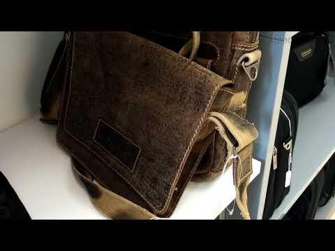 сумки wenger искусственно состаренные  фактура витрина