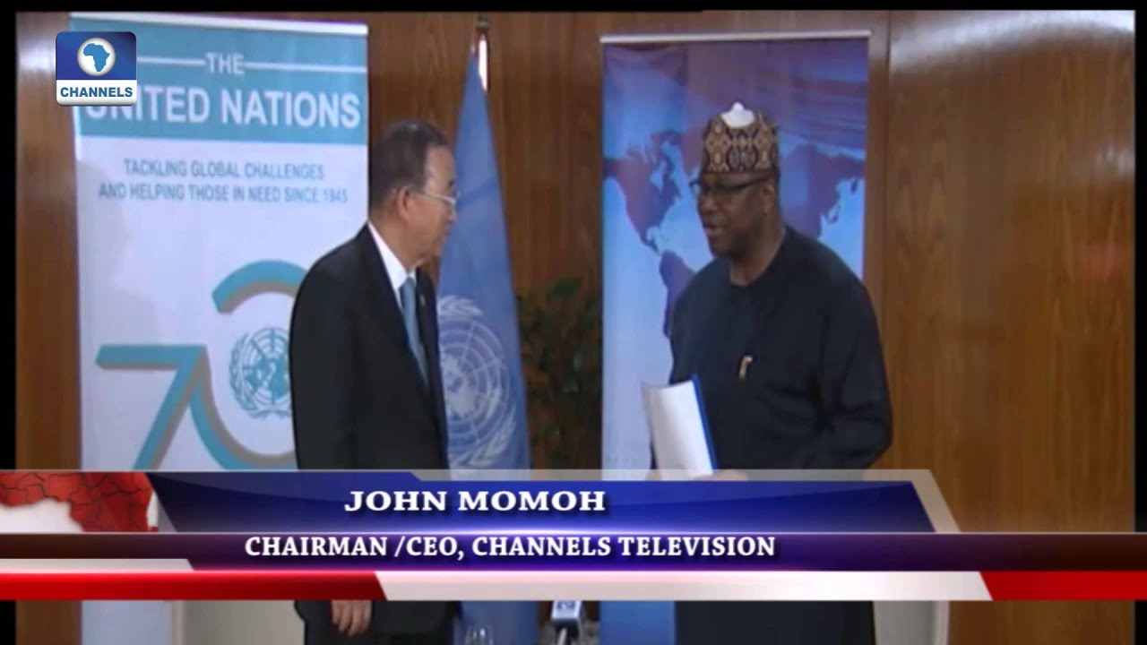 Diplomatic Channel:  Review Of UN Secretary General's Visit To Nigeria -- 31/08/15 Pt 2