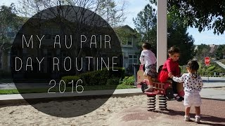 AU PAIR VLOG 22. My Au Pair Day Routine 2016 [UPDATED]