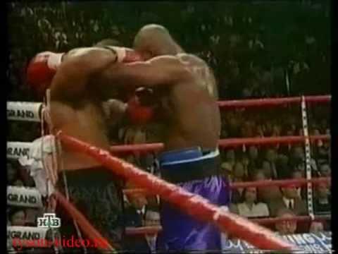 Майк Тайсон - Эвандер Холифилд 1 ч.2 Mike Tyson vs Evander Holyfield