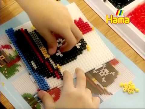 Игрушки Термомозаика hama