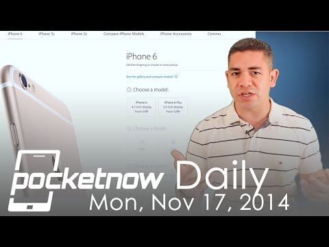 iPhone 6 numbers, Carrier Nexus 6, Google Glass future & more - Pocketnow Daily