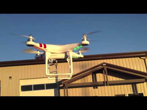 DJI Phantom Quadcopter RTF Flight Demonstration