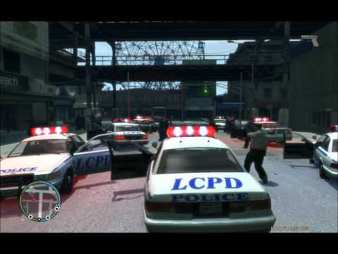Let`s play GTA 4 LCPDFR Mod Gameplay (Deutsch HD)