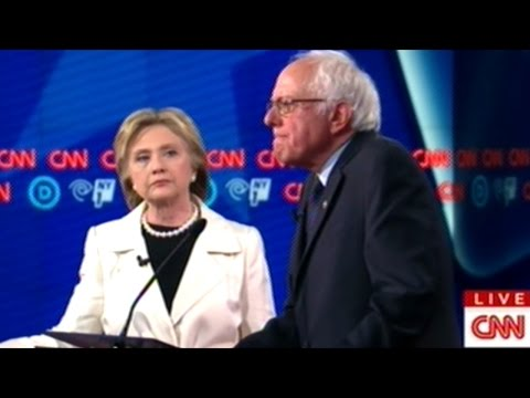 DOES ISRAEL HAVE THE RIGHT TO DEFEND ITSELF? HILLARY CLINTON vs BERNIE SANDERS RUMBLE IN NY!