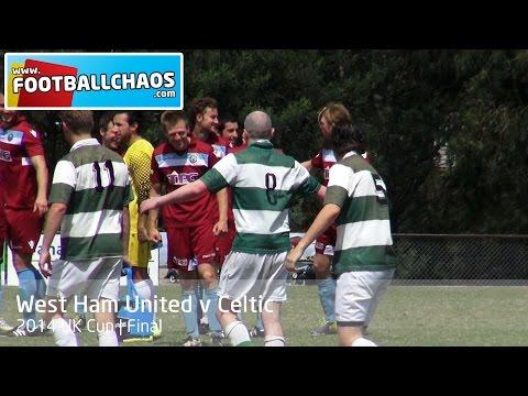 2014 UK Cup Final - West Ham United v Celtic