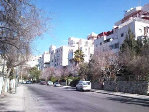 Har nof Jerusalem  an apartment of 5.5 rooms 120 square meters .wmv
