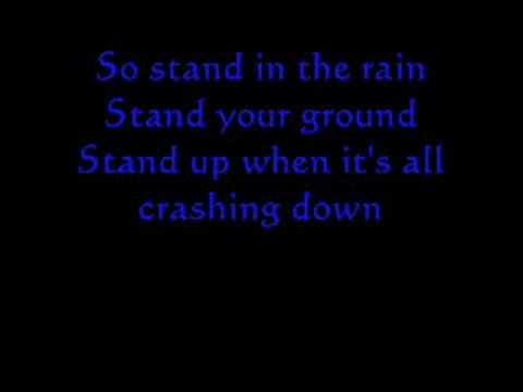 Stand in the Rain Karaoke