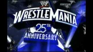 WWE Wrestlemania 25 Full Match Card
