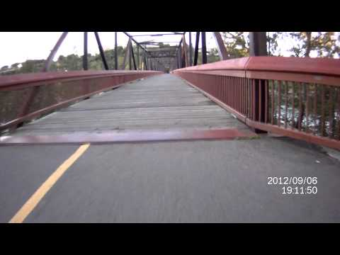 Across N.saskatchewan River N Back On Different Bridge. How Long? video