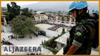 RE: VIDEO: UN Peacekeepers to leave Haiti after 13 years