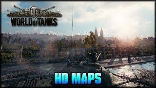 World of Tanks - Alle HD Maps - Teil 4 [ deutsch