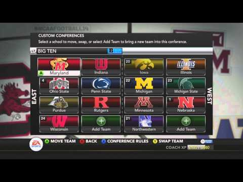 Akron Zips NCAA Football 14 Dynasty - Off-season & Preseason - Season Two