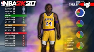 THIS DEMIGOD IS AN OFFENSIVE BEAST! NBA 2K20 KOBE BRYANT BUILD!