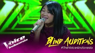 Tesa - Speechless | Blind Auditions | The Voice Indonesia GTV 2019