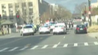 Dramatic video of 'criminal' incident on Capitol Hill