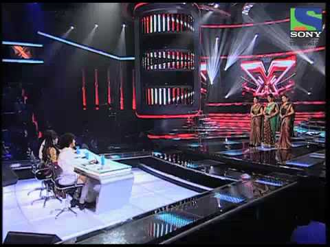 X Factor India - Sajda Sisters perform Aaj Ki Raat- X Factor...
