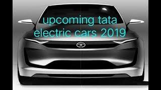 Upcoming tata electric cars 2019