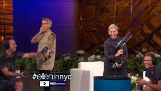 Justin Bieber Funny Moment Ellen 2016