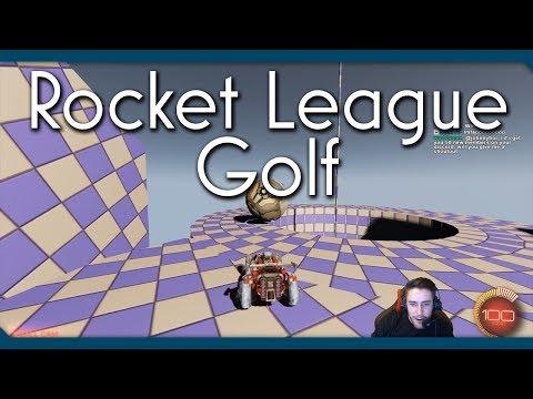Rocket League Golf | Workshop Map