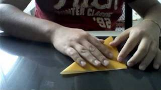 Origami Frog That Jumps