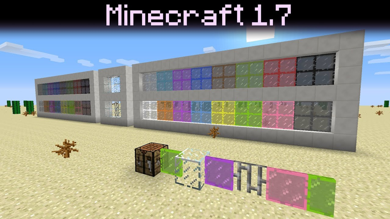 How Do I Make Stained Glass Panes In Minecraft Minecraft Xbox One