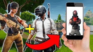 FORTNITE MOBILE + PUBG MOBILE = SURVIVOR ROYALE