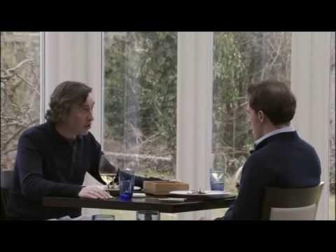 Steve Coogan & Rob Brydon in The Trip - James Bond & Liam Neeson