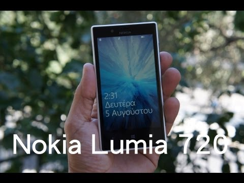 Nokia Lumia 720 hands-on (Greek)