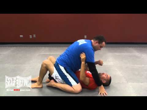 Arm Triangle Choke - No Gi Jiu Jitsu Mount Techniques - Luta Livre Moves