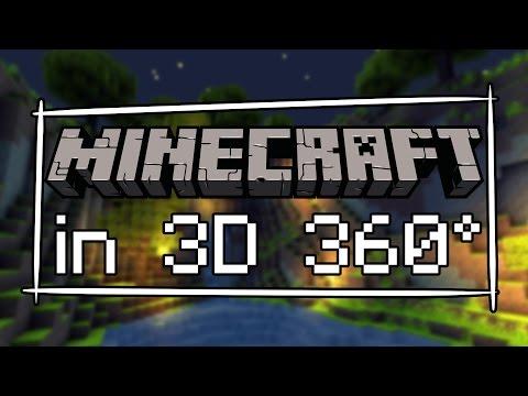 MINECRAFT VR SHOWREEL - First Minecraft VR Video