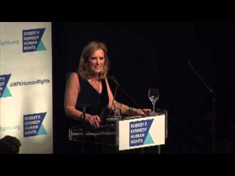 Kerry Kennedy Introduces Hillary Clinton at Robert F. Kennedy Human Rights Gala, December 16, 2014