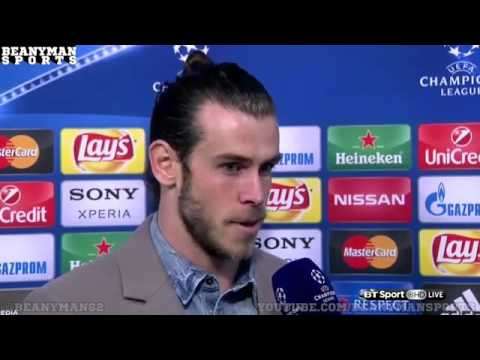 Real Madrid vs AS Roma 4-0 UEFA Champions League Gareth Bale Post Match Interview 2016