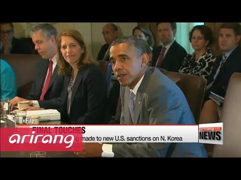 U.S. President Obama to sign new sanctions against N. Korea