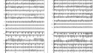 Leroy Anderson - Sleigh Ride: for orchestra with sheet music score