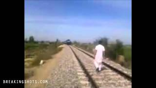 Crazy Punjabi Railway Track Risk Taker