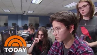 Meet The Teens Being Groomed As The Future Of Cyber Security | TODAY