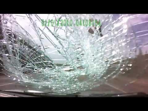 Происшествие под Воротынцем трасса М7 разлетелся тормозной барабан(29.05.2014)