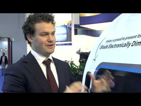 Mareijin Willems from Fokker Services talks about SPD-Smart Windows in AirCrafts