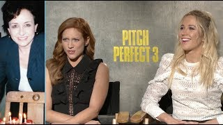We Take Questions from Moviefone's Biggest 'Pitch Perfect 3' Fan: Drew's Mom