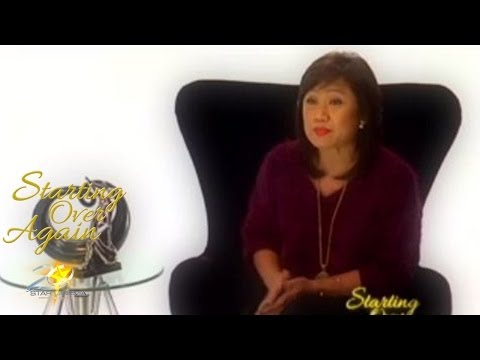 Up Close With Inang As The Director Of Starting Over ...
