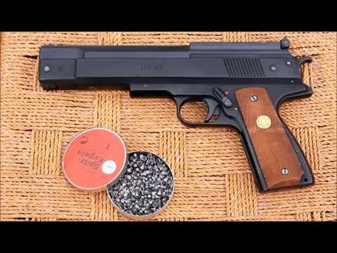 The Weihrauch HW 45 (Beeman P-1) spring piston air pistol - a review