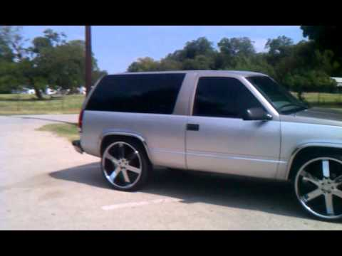 2 Door Tahoe On 26s How To Save Money And Do It Yourself