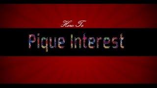 How To Pique Interest- PlanNet Marketing