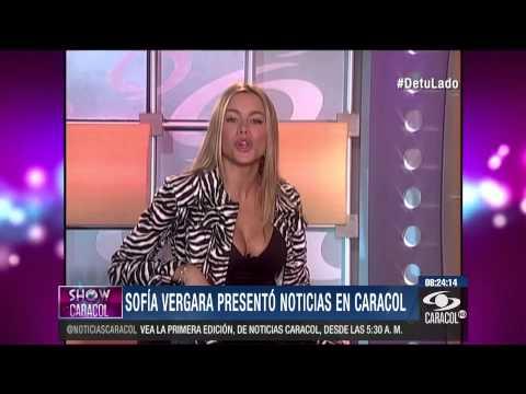 Sofía Vergara también fue presentadora de Entretenimiento de Caracol - 23 de Octubre de 2014