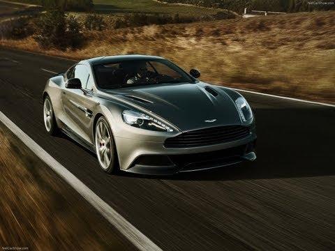 New Aston Martin Vanquish, реклама