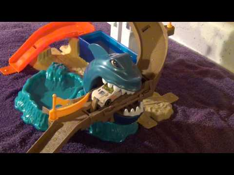Hot Wheels Color Shifters Sharkport Showdown Trackset - Unboxing and Review