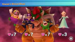 Mario Party 10 Bowser Party #314 Wario, Waluigi, Spike, Rosalina Chaos Castle Master Difficulty