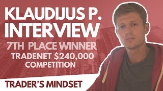 Trader's Mindset Interview: Klaudijus P. (7th Place) w/ Analyst Scott Malatesta